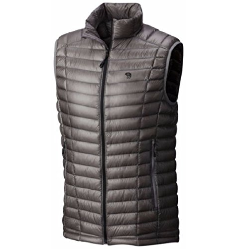 Mountain Hardwear Ghost Whisperer Down Vest - Men's Manta Grey, M by Mountain Hardwear