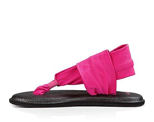 Sanuk Kvinna Yoga Sele 2 Flip Flop Hot Pink