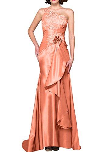 Spitze La Etuikleider Rosa Braut mia Partykleider Figurbetont Ein Bodenlang Brautmutterkleider Abendkleider Orange Traeger Neu qqHXBx