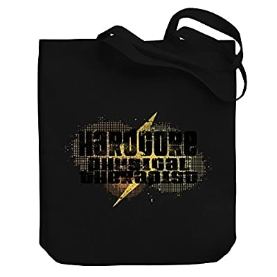 Teeburon Hardcore Physical Therapist Canvas Tote Bag outlet