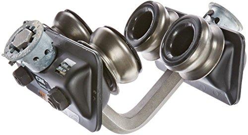 Columbus McKinnon Series 632 Steel Manual Plain Close Radius Trolley, 1-1/2 ton - 2 ton Capacity -