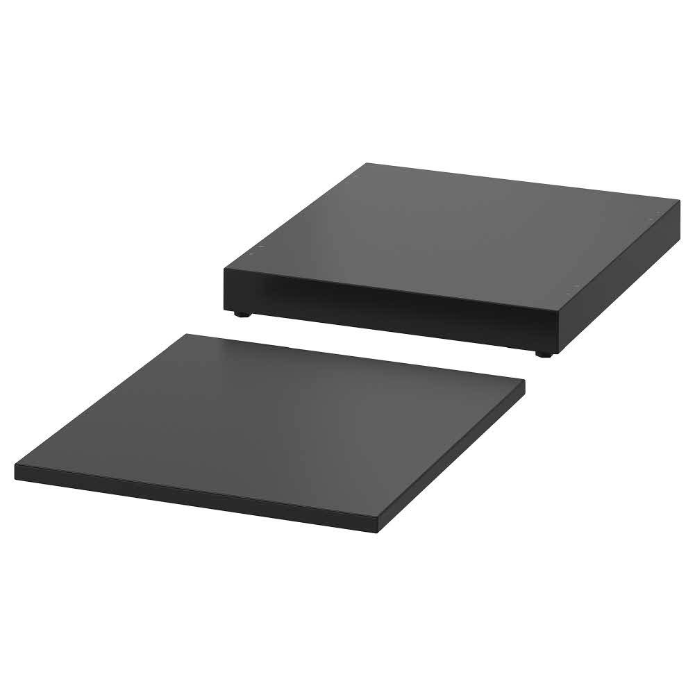 NORDLI Top and Plinth, Anthracite