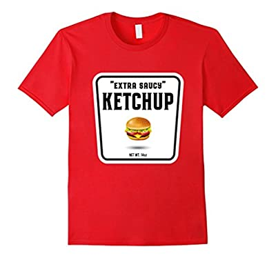 Easy Halloween Costume Ketchup Mustard Relish Couples tees