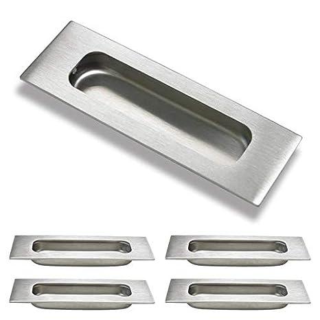 MH007 Probrico /Poign/ée de tiroir coulissant Poign/ée rectangulaire encastr/ée Longueur 12/cm