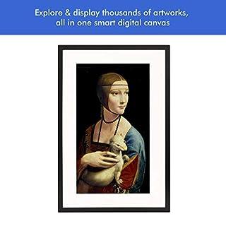 Canvia - Digital Art Canvas & Smart Digital Frame  11AC WiFi   16GB  27x18in Frame  Adv Full-HD Display  Powered by ArtSense Free 2500 Artworks