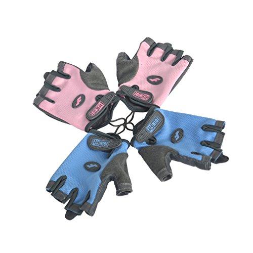 Guanti Rigidi Per Sollevamento Pesi - Bodybuilding, Crossfit, Guanti Da Allenamento Per Donna - Guanti Da Allenamento Cross 2 Paia