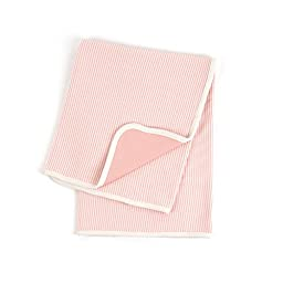 Tadpoles Organic Cotton Double Layer Receiving Blanket, Salmon