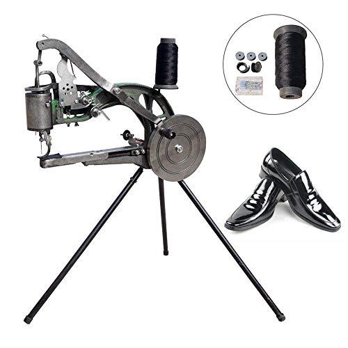 ETE ETMATE Hand Machine Cobbler Shoe Repair Machine Dual Cotton Nylon Line Sewing Machine (Machine Cranked Sewing Hand)