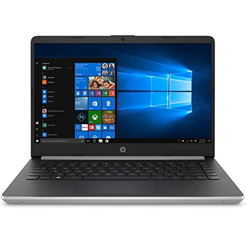 HP 14-DQ1039 Laptop, Intel 10th Gen Core™ i5-1035G1, 8GB SDRAM, 256GB SSD + 16GB Intel® Optane™ memory, Natural Silver…