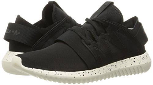 Adidas Originals Women's Tubular Viral W Running Shoe, Black/Black/Core White, 10 M US
