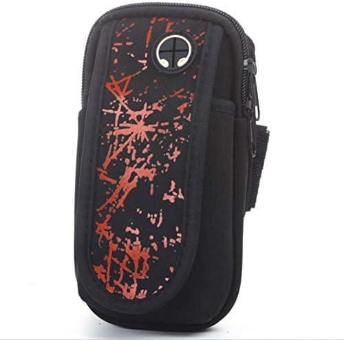 """男性/女性用の携帯電話の腕章、ランニング用の快適で 携帯電話の腕章、ジムのトレーニング携帯電話の腕章の袖(3.5-6.0""""),B"""