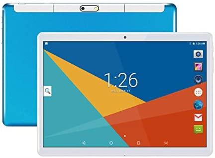 Tablets 10 Pulgadas Android 8.1,Octa Core,4GB de RAM,64GB de Memoria Interna,1280*800 HD IPS,3G Tablet,Dual SIM,WiFi/Bluetooth/GPS/OTG (Azul)