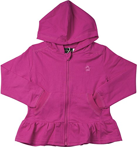 Girls Terry Hooded Jacket - 6