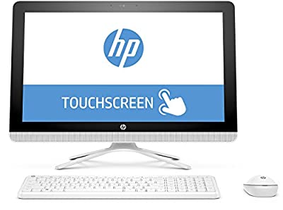 "HP 22-b052 All-in-One Touch PC - AMD Carrizo-L A6-7310 2GHz 8GB 1TB DVDRW 21.5"" Multi-Touch Windows 10 Home (Certified Refurbished)"