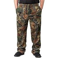 TrailCrest Men's Camo 3 Pocket Hunting Sweatpants