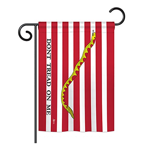 (Americana G142701 First Navy Jack Historic Impressions Decorative Vertical Garden Flag 13