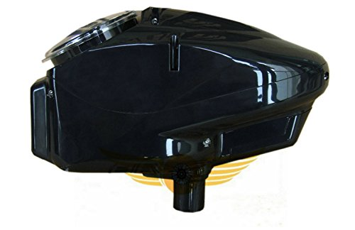 Paintball Hopper Speed Loader SHELL/HOPPER for Automatic Wheel Loader Parts-Black (empty shell)