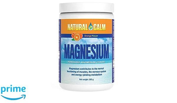 Natural Vitality Magnesio para estrés Naranja 302 g: Amazon.es: Salud y cuidado personal