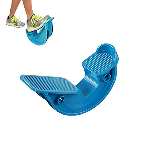 Ultra Flex Foot Rocker, Ehonestbuy Prostretch Calf and Achilles Tendon Stretcher, Reduce Pain Caused by Plantar Fasciitis and Tight Calves (Slip Resistant Bottom) (Blue)