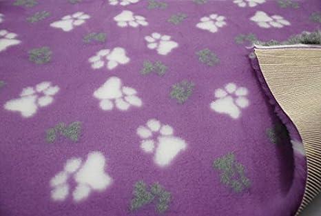CRS Fur Fabrics Lilac - Ropa de Cama para Perro Veterinaria, Antideslizante, no se desliza, para LG Paws: Amazon.es: Hogar