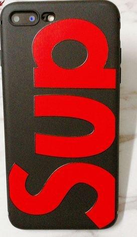 Coque Iphone 7 SUP rouge et noir (Livraison gratuite en France) Phone Tattoo