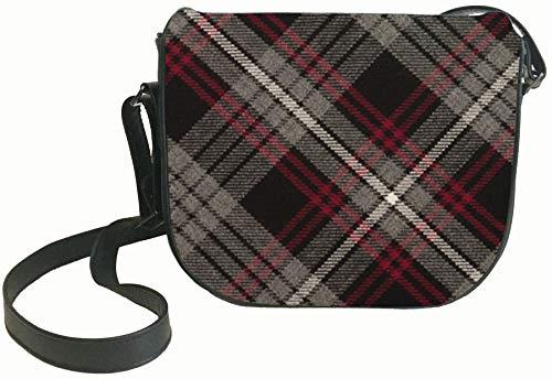 and with Auld Back Pocket Tartan Lang Shoulder Syne Leather Bag Handbag Inside qwFZazxgS