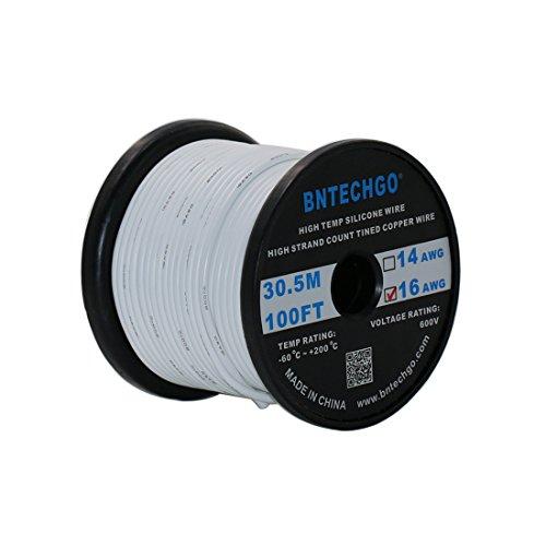 White 16g Wire - 5