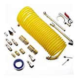 Mastercraft 20 Piece Compressor Starter Kit with Hose