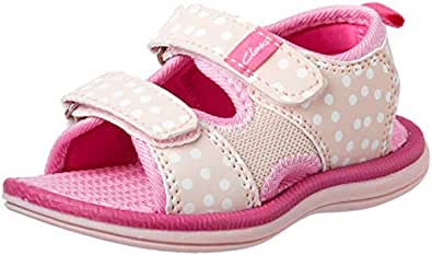 Clarks Girls' Frida Fashion Sandals, Pink, 33 EU (1 AU)