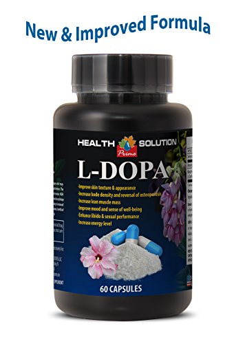 Libido booster for women natural – L-DOPA – MUCUNA PRURIENS EXTRACT 99% – Dopamine supplements – 1 Bottle 60 Capsules For Sale