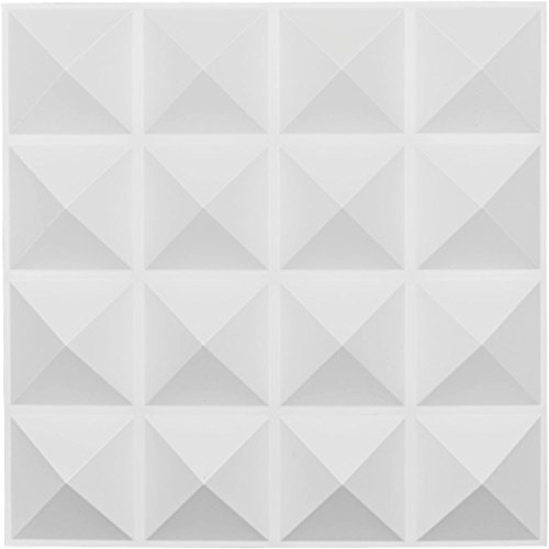 Ekena Millwork WP20X20CNWH Cornelia Design Decorative 3D Wall Panel White