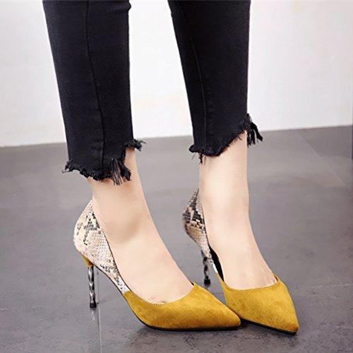 FLYRCX Frühling Sommer dünne High Heels High Heel Heel Heel Schuhe im Europäischen Stil Sexy Persönlichkeit Single Single Single Schuhe Schuhe Schuhe Schuhe Schuhe Partei d60e13