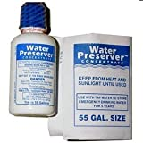 Drinking Water Treatment 55 Gallon Water Preserver Concentrate 5 Year Emergency Disaster Preparedness, Survival Kits, Emergency Water Storage, Earthquake, Hurricane, Safety