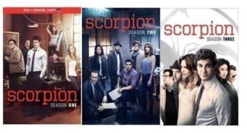 Scorpion: Complete TV Series Seasons 1-3, 1 2 3 / DVD Set by GF STUDIO