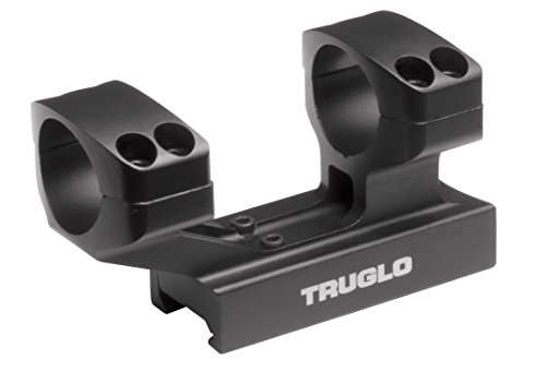 TRUGLO Tactical Scope Mounting Rings, 1-inch Rings