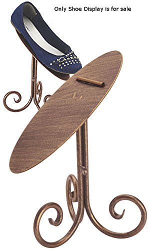 New retails Rich Cobblestone Finished Shoe Display Stand - 8 Inches