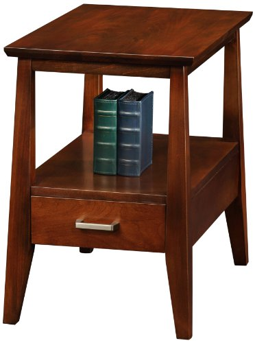 Leick Delton Chairside End Table with Drawer by Leick Furniture