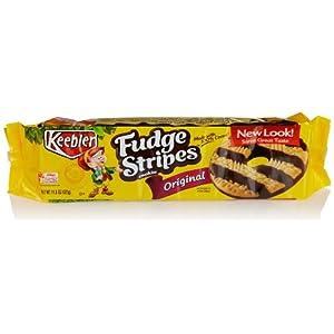 Keebler Fudge Stripes Cookies, 11.5 Oz