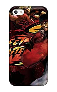 9685549K47807213 Tpu Shockproof Scratcheproof Street Fighter Hard Case Cover For Iphone 5/5s