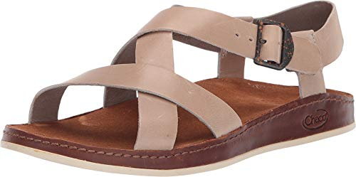 - Chaco Womens Wayfarer Sandal Shoes J107352 Tan 6