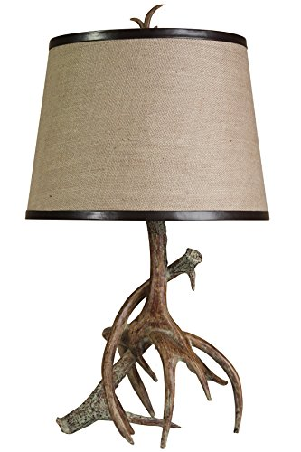 Style Craft Antler Table Lamp - Faux Antler Table