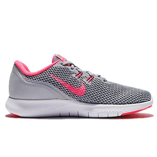 Nike stealth Fitness Wolf Racer Grey Pink Damen Femme 7 Chaussures de Flex Trainingsschuh Trainer AAOxrBq