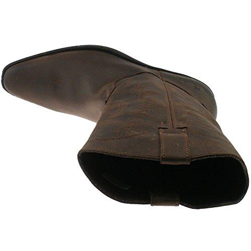 Stivali marrone uomo Brown Wrangler marrone Dark UqdnO