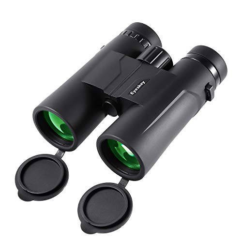 Eyeskey Eaglet HD 10X42-Binoculars-for-Adults-BirdWatching | 100% Waterproof & Fog Proof | Compact Binocular for Hunting Travelling | Easy Focus | Twilight Vision | Bright & Clear Images