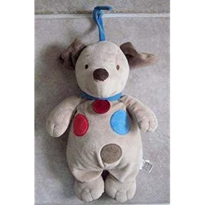 "Carter's ""Child of Mine"" Musical Puppy Dog Plush - 12 Inches: Toys & Games"