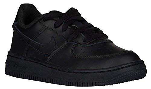 Negro Nike Force de 1 Baloncesto PS Niños Zapatillas gF0gw