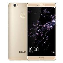 Huawei Honor NOTE 8 / EDI-AL10 64GB 6.6 Inch EMUI 4.1 Smartphone, Kirin 955 Octa Core 2.5GHz, 4GB RAM GSM & WCDMA & FDD-LTE (Gold)