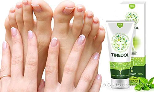 Russian Tinedol natural cream for skin legs - foot nail fungus, smell, odor, itching by Tinedol