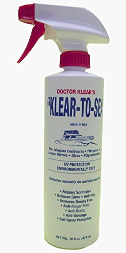 Doctor Klear Klear-To-Sea Cleaning and Polishing Liquid, 16 - Plastic Eyeglass Polishing Lenses