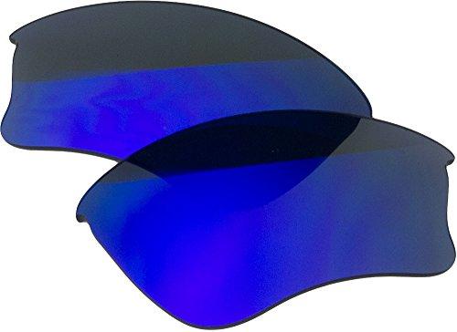 Zero Replacement Lenses For Oakley Half Jacket 1.0 XLJ Sunglasses Blue - Half Lenses 1.0 Jacket Oakley